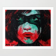Zorro Art Print