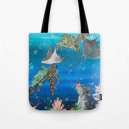 Four Swim Tote Bag