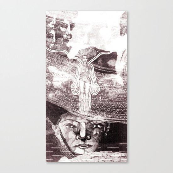 The drift Canvas Print