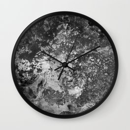 Urban Decay - Black & White Painting Wall Clock