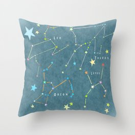 Sternbild 1 Throw Pillow