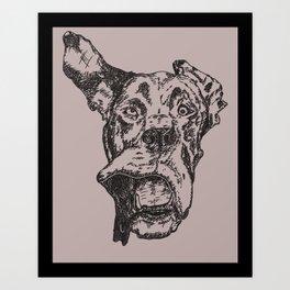 Marmaduke Art Print