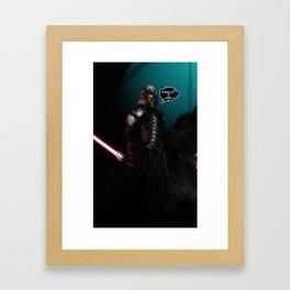 Lord Starkiller Framed Art Print