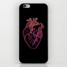 Designer Heart Colors iPhone Skin