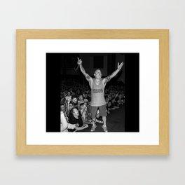 Spiritual Gangster Framed Art Print