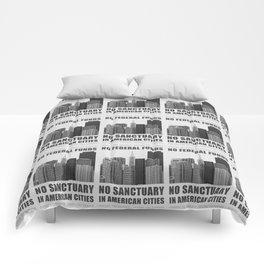 No Sanctuary Cities Comforters