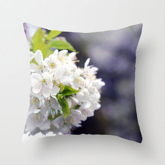 flower x. Throw Pillow