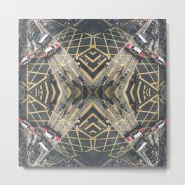 Hong Kong Kaleidoscope 06 Metal Print