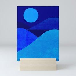 Abstraction_Moonlight Mini Art Print