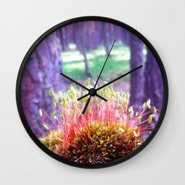 FOREST MOSS Wall Clock