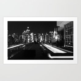 Dark NYC Art Print
