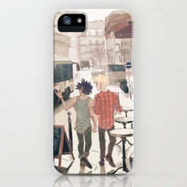 Barricade Day iPhone Case