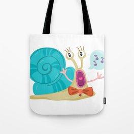 Cute Snail Tote Bag