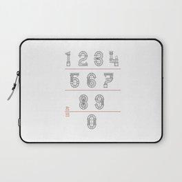 Roman Numerals Laptop Sleeve