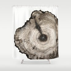 cross-section I Shower Curtain