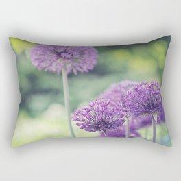 Spring Alliums  Rectangular Pillow