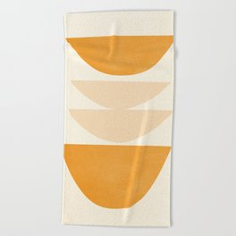 Abstract Shapes 36 Beach Towel