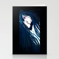 kiss Stationery Cards featuring Kiss by Varvara Gorbash