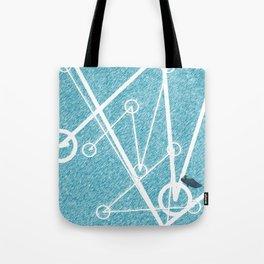 Undulate - whale edition Tote Bag