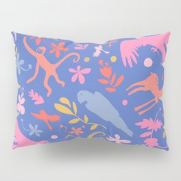 Frid Menagerie in Azul Pillow Sham