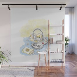 Lazy cozy Monday Wall Mural