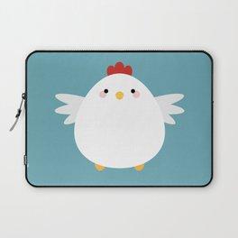 White Chicken Laptop Sleeve