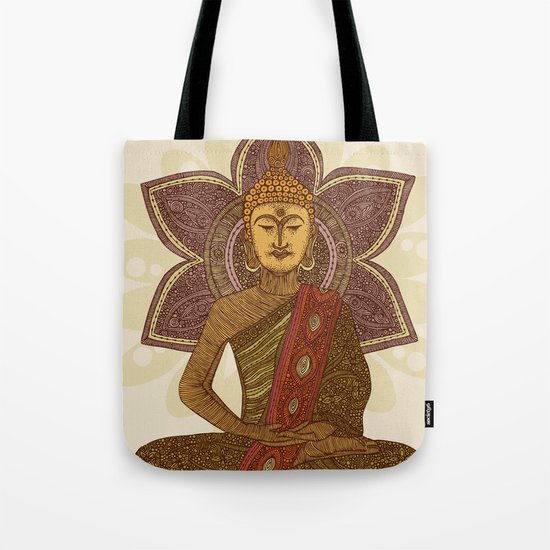 Sitting Buddha Tote Bag