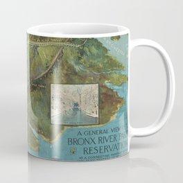 Vintage Map of the Bronx NY (1915) Coffee Mug