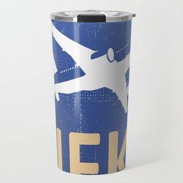 USA JFK airpot Travel spirit Travel Mug