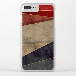 Contemporia 4 Clear iPhone Case