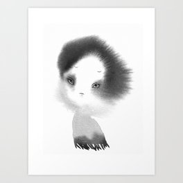 little gost Art Print