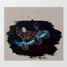 Space Dementia Canvas Print
