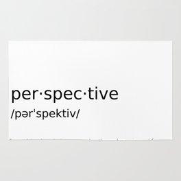 Perspective #minimalism Rug