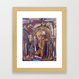 Untitled with Gold Framed Art Print