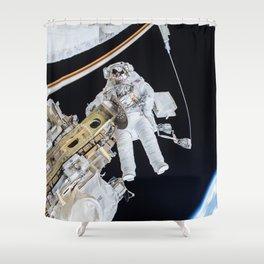 Spacewalk Shower Curtain