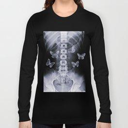X-Ray Conceptual Butterflies  Long Sleeve T-shirt