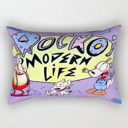 Rocko and Family Rectangular Pillow