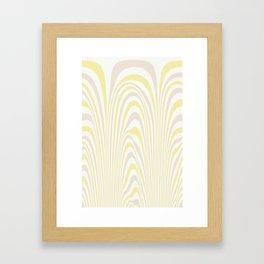 Polar Dunes Framed Art Print