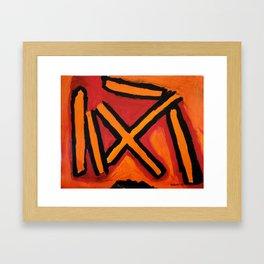 Abstract 9 Framed Art Print