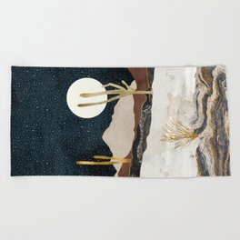Desert View Beach Towel