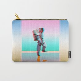 Retro Space Man Carry-All Pouch