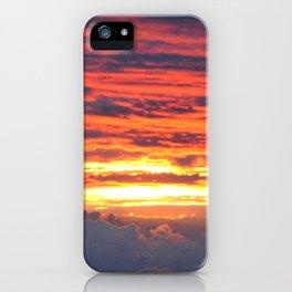 Sunrise on Station 8.5 iPhone Case
