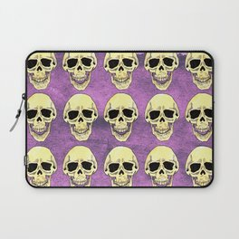 Skulls at the party - Violet Laptop Sleeve