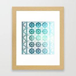 Pre-Columbian-Islamic Fusion Framed Art Print