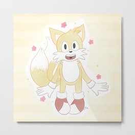 Tails Prower Metal Print
