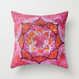 Abundance Mandala Throw Pillow