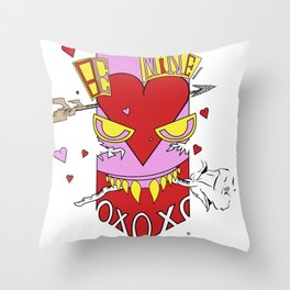 Be Mines! Throw Pillow