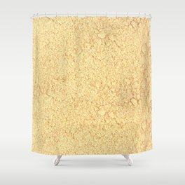 Asafoetida Shower Curtain