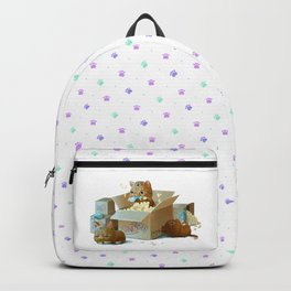 Happy kittens Backpack