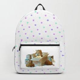 Happy kittens Backpack